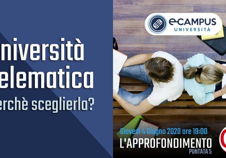 """Quinta Puntata del 04 giugno de """"L'Approfondimento di OD"""" – Tema Università Telematica: perché sceglierla"""